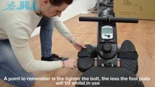 JLL® R200 Rowing Machine - Unboxing & Assembly (13Mins)