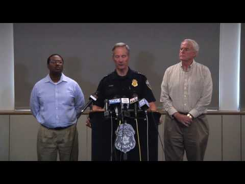 Chief Flynn, Mayor Barrett Update Community on Shooting of Armed Suspect and Overnight Events