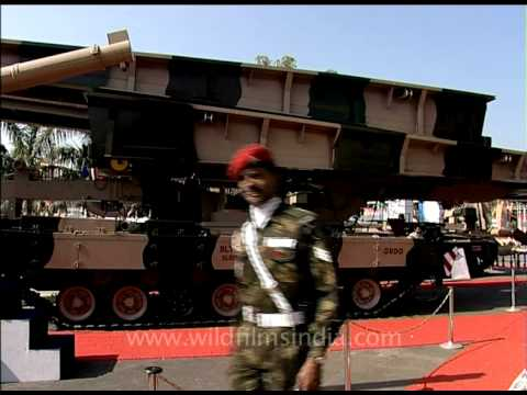 Arjun tank - the pride of DRDO!