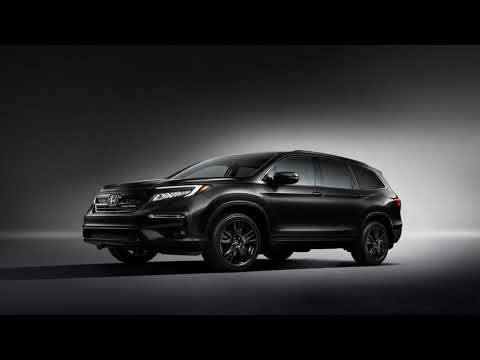 How much more black can the 2020 Honda Pilot Black Edition be? None more black