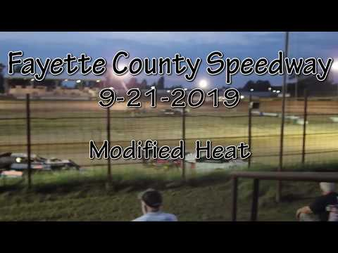Fayette County Speedway Modified Heat September 21 2019