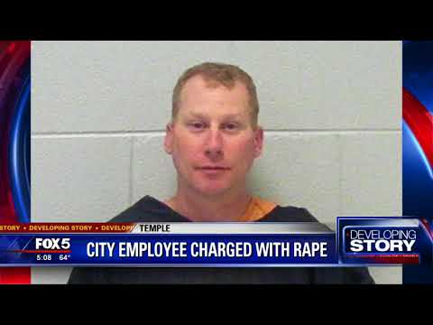 City employee charged with rape