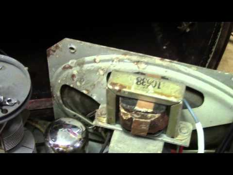 1946 Philco model 46-420 radio repair