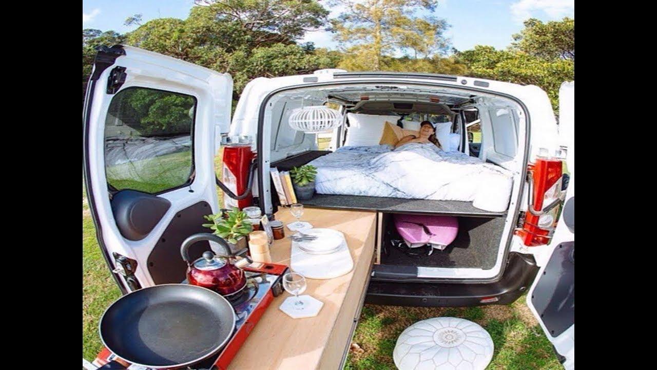 Camper Van Life | Van Life Interior Ideas