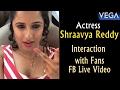 Actress Shraavya Reddy Interaction With Fans || Vega Entertainment