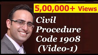 CPC 1908 [Video-1] -Civil Procedure Code 1908 (Jurisprudence, Interpretation and General Laws
