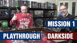 Zombicide Dark Side Mission 1 - 2 Player Playthrough