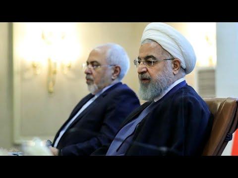 En Iran, le président Rohani rejette la démission de Mohammad Javad Zarif