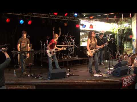 Mom's Music performance band Identity Crisis performs