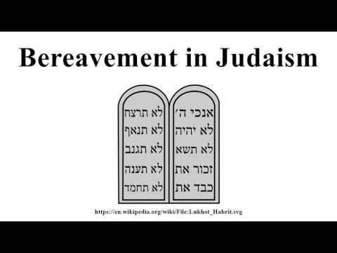 Bereavement in Judaism
