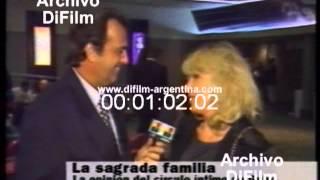 difilm reportaje al padre y la madre de gabriela sabatini 1996