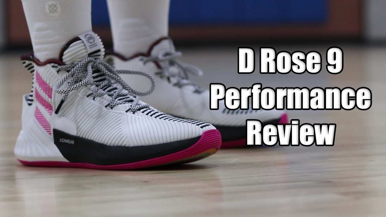 Adidas D Rose 9 Performance Review - YouTube e1d7c7294