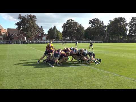 St John's 1XV vs Brighton College 1XV.   Sept 2015