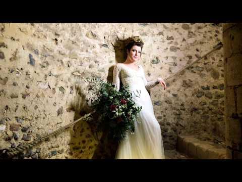 Hedingham Castle Creative Bridal Photo Shoot by gavin conlan photography