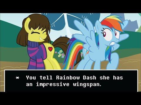 Top 5 My Little Pony & Undertale Crossovers