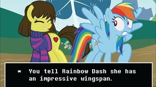 Top 5 My Little Pony & Undertale Crossovers
