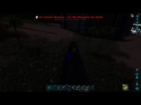 Ark official server GLITCH BREED BABIES WITHOUTH FOOD-SNOW OWL GLITCH