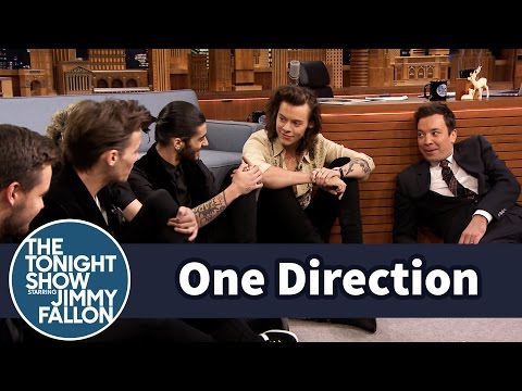Thumbnail: One Direction and Jimmy Have a Floor Interview