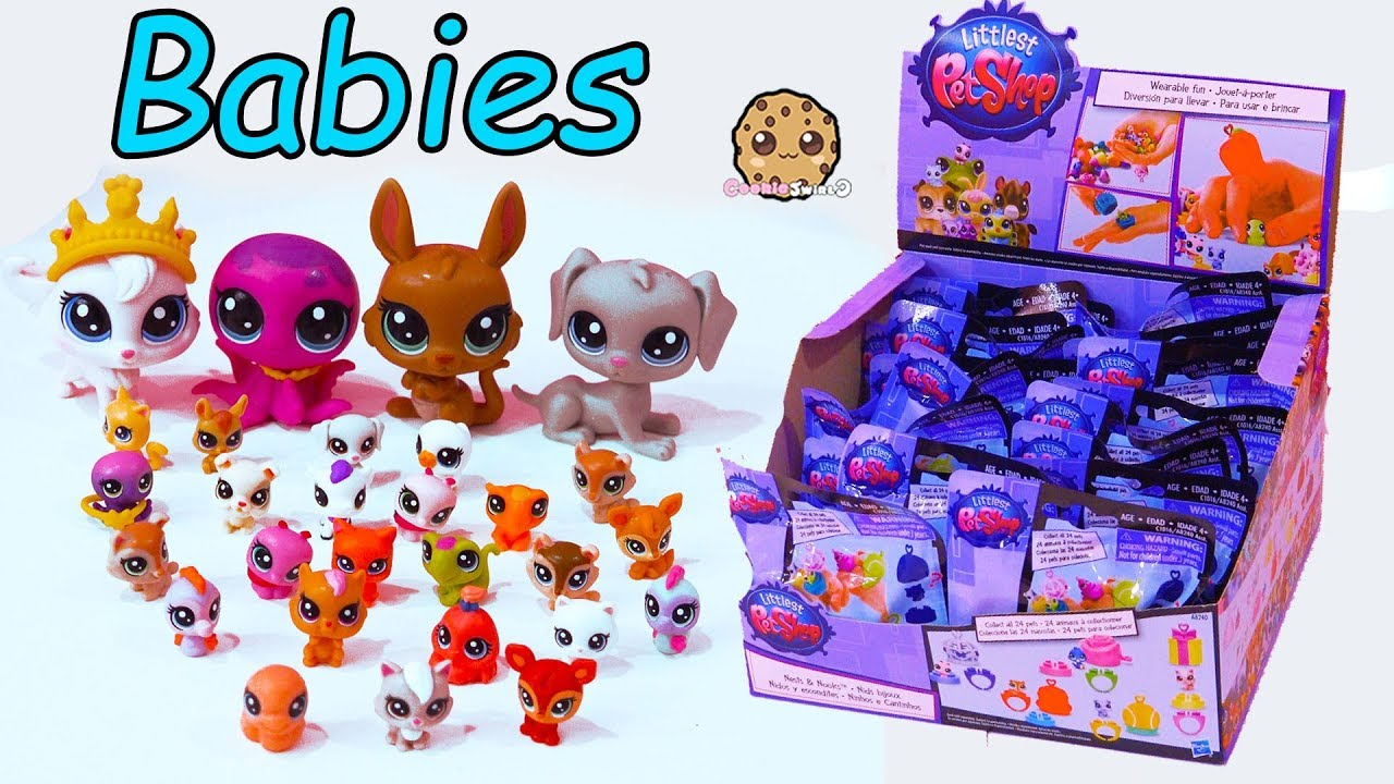 Mom Babies Littlest Pet Shop Mommies Baby Animal Surprise Blind Bag Toys Youtube