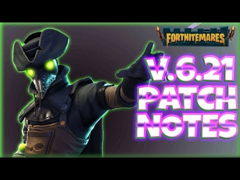 VERSION 6.21 PATCH NOTES : More Perk! ~ FORTNITE StW | PvE