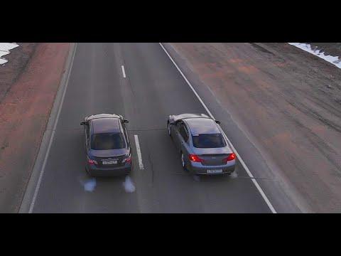 Такого от Camry 3.5 никто не ожидал. Toyota Vs Infiniti G 35.