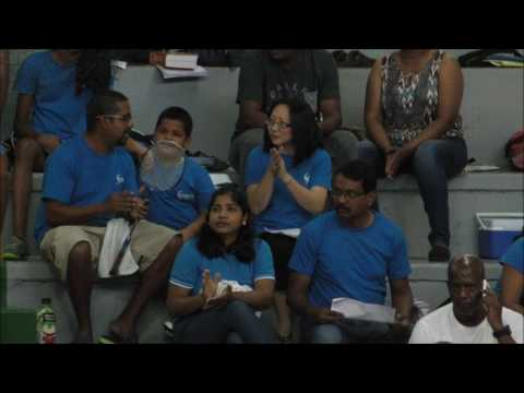Badminton National Junior Championships at Central Indoor Arena , Chaguanas - January 21, 2017