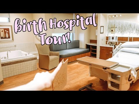 I'm GIVING BIRTH HERE!! HOSPITAL TOUR!