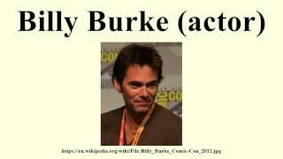 Billy Burke (actor)