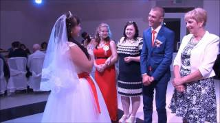 Речь невесты Людмилы на свадьбе 26.08.2016
