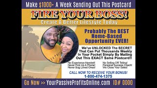 Passive Profits Webinar Review 2020-Best Way to Make Passive Income From Home [Direct Mail Business]