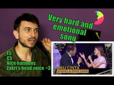 Vocal coach YAZIK analysis/reaction to Syamel & Ernie Zakri | Aku Cinta at AJL32