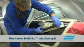 Step by step guide to repair and prepare car body panels before painting