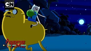 Running in the Moon's Light I Adventure Time I Cartoon Network