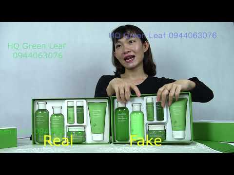 Phân Biệt Thật Giả Set 6 Món Trà Xanh innisfree Mới innisfreefake – Hướng dẫn dùng toner đơn giản nhất | giamcanlamdep.com.vn