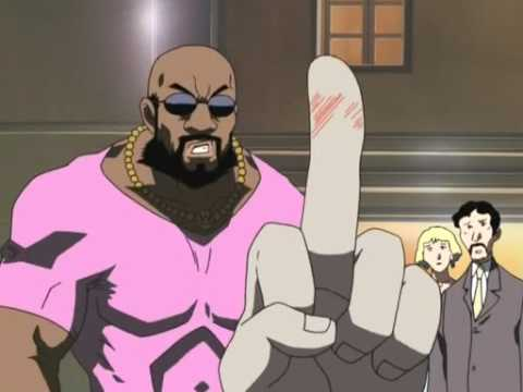 Worst black guy in a japanese dub ever
