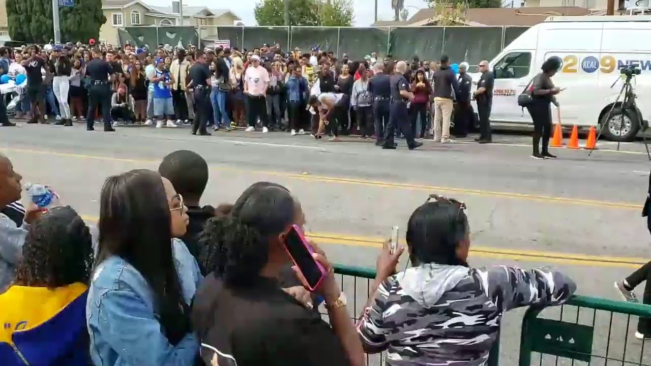 Live @ Nipsey Hussle Funeral Procession