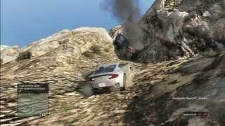 GTA 5 BIG STUNT TRUCK PORSCHE ASTON