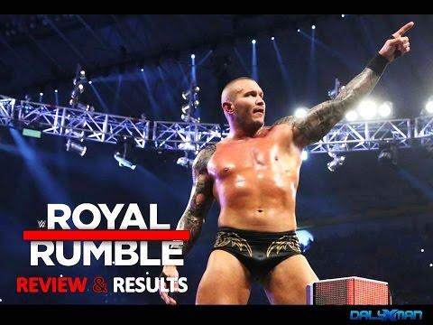 WWE Royal Rumble 2017 FULL SHOW Review &...