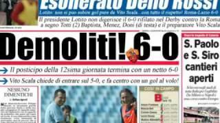 Roma-Lazio Corriere dello Sport dopo il derby!