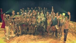 видео Шоу TOTEM от Cirque du Soleil в июле 2017 года в Сочи!