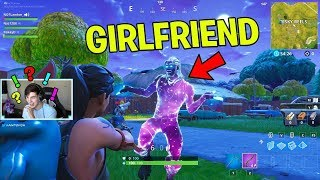 Buying my FORTNITE GIRLFRIEND the GALAXY SKIN in Fortnite! (Fortnite Battle Royale)