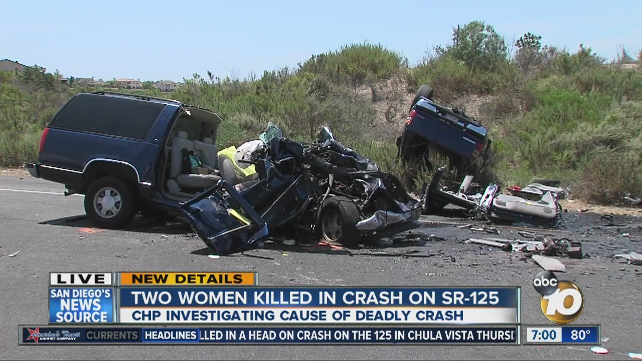 Mother, daughter killed in head-on collision in Chula Vista
