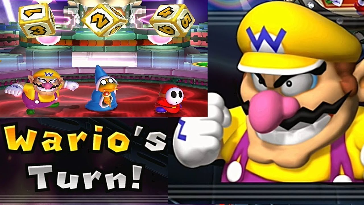 Mario Party 9 Solo Mode 174 Wario Bowser Station Youtube
