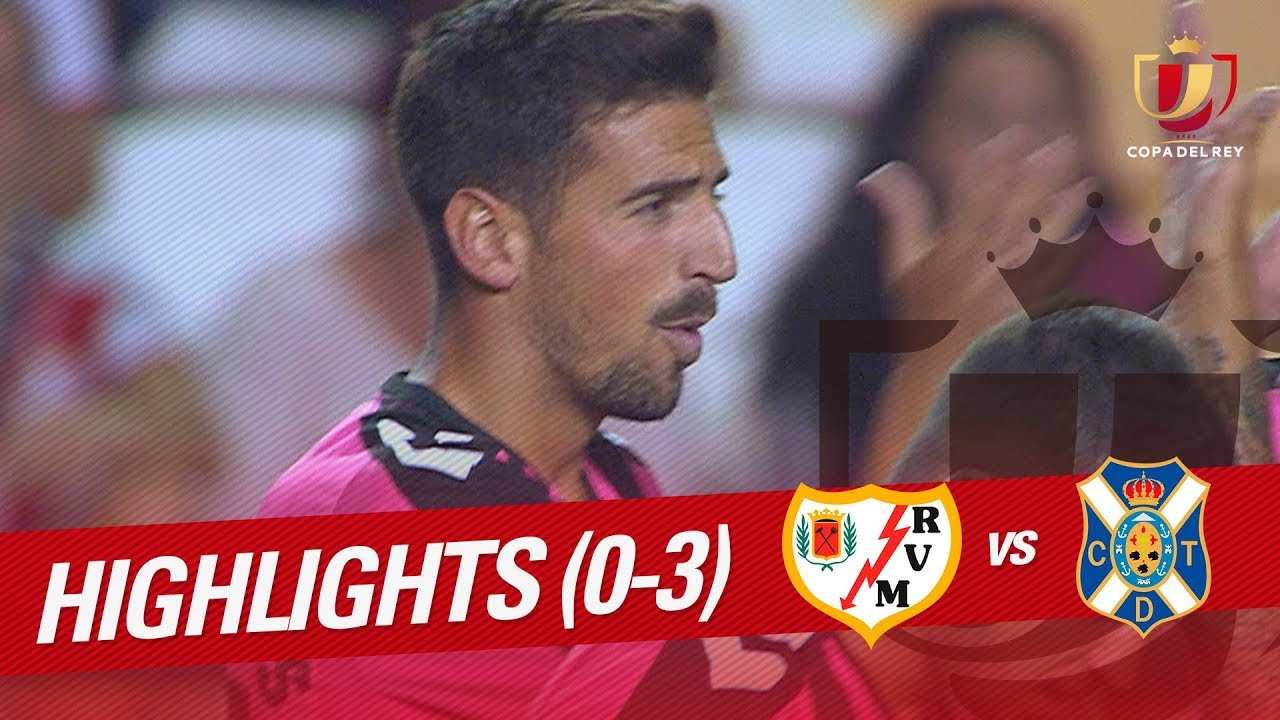 Rayo Vallecano 0-3 Tenerife