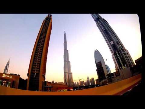 Driving in Dubai testing my new GoPro Hero+ LCD