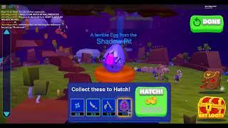 Hatching the Halloween Egg! {Dragon riders} {Roblox}