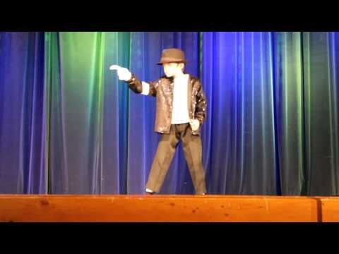 9 year old Kid Steals Talent Show with Michael Jackson's Billie Jean Dance