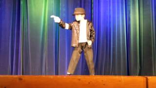 9 year old Kid Steals Talent Show with Michael Jackson