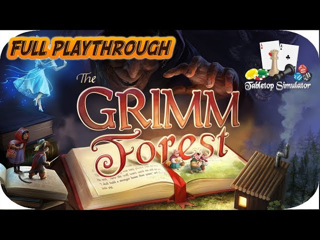 THE GRIMM FOREST - BOARD GAME - TABLETOP SIMULATOR