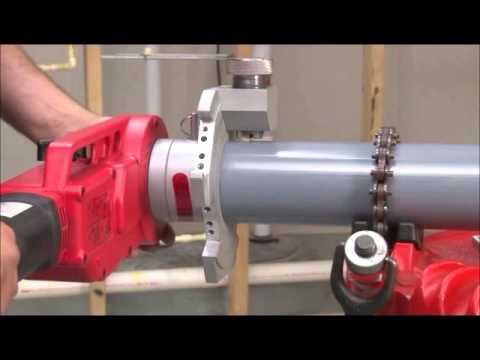 Cut-Groove Corzan® Pipe (demo video)